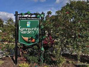 Lakes Park Community Garden Fort Myers, FL