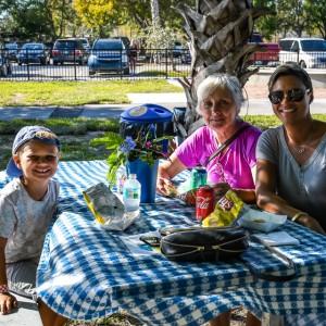 Family fun day! | Brick by Brick Picnic at Lakes Regional Park, 03-18-2018