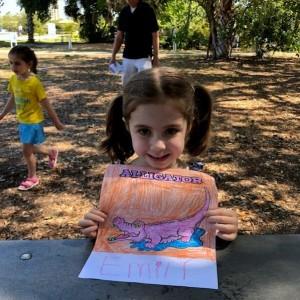 StoryTime in the Garden, April 2018 - Lakes Regional Park, Fort Myers, FL
