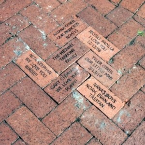 Bricks at the Train Museum August 2018 Lakes Park Fort Myers