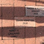Pavers donated near the Train Museum, Lakes Park, Fort Myers FL