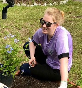 Katherine Poinsett, senior at Estero High School and Gold Award applicant from Girl Scout Troop 245 in the Gulf Coast Florida Council