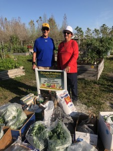Jim Dubyak and Bill Johnson pose with their plunder from the March 12th harvest