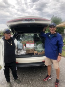 The Lakes Park Community Garden donated its final harvest for the 2019 season to the Community Cooperative