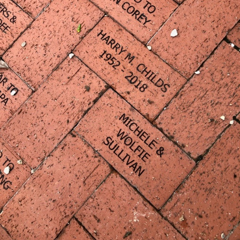 Brick donated to the Rose Garden at Lakes Regional Park by Michele Sullivan