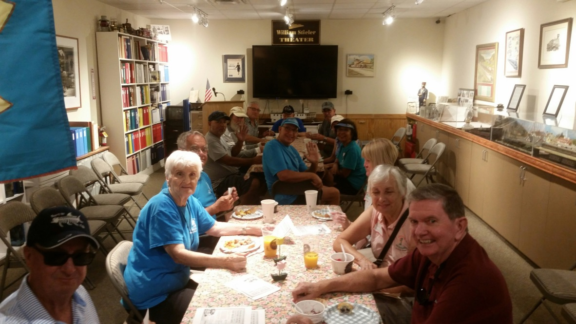 Happy Lakes Park Ambassadors chow down on the delicious menu items provided by First Watch