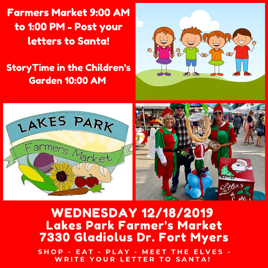 Holiday Fun Day at Lakes Park Wednesday December 18th 2019