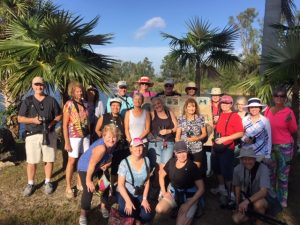 """Lee County Bird Patrol """"Morning Meander"""" tour at Lakes Park on January 4th 2020"""
