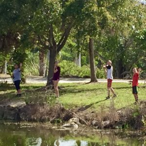 "Kid Stuff - Lakes Park summer camp kids ""gone fishing"""